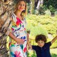 Raphaël Varane annonce que sa femme Camille est enceinte de leur deuxième enfant. Le 20 mai 2020.