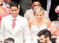 Raphaël Varane intime : rare et sublime photo de son mariage avec Camille Tytgat
