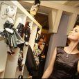 Laeticia Hallyday à l'Opération Frimousses de Créateurs en 2008