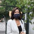 Agnès Buzyn, candidate LREM à la mairie de Paris a voté pour le second tour des éléctions municipales à l'école élémentaire de la rue Saint Jacques dans le 5ème arrondissement de Paris, le 28 Juin 2020. © Dominique Jacovides/Bestimage