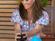 Kate Middleton : Pimpante en robe estivale pour du jardinage et des confidences