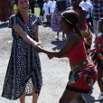 Meghan Markle, duchesse de Sussex en visite dans le township de Nyanga, Afrique du Sud. Le 23 septembre 2019.