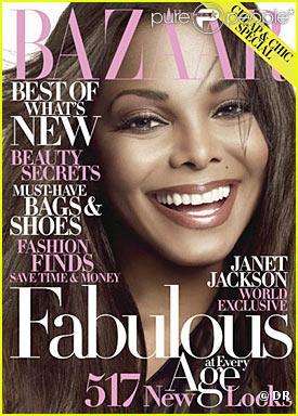 Janet Jackson pour Harper's Bazaar