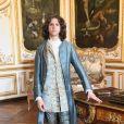 """Thomas Solivéres - Tournage de la série télévisée """"Les Aventures du jeune Voltaire"""" au Château de Chantilly, le 7 juillet 2020. © Coadic Guirec/Bestimage"""