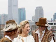 Maxima des Pays-Bas : Un bon fou rire en plein New York, pour un anniversaire... costumé !