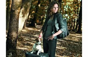 Cécile Siméone : Quand l'ex Miss-Météo de Canal + prend la pose... elle a du chien !