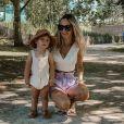 """Cindy, ex-candidate des """"Ch'tis à Mykonos"""" en 2012 et aperçue dans """"Les Reines du shopping"""" en 2017, est la maman du petit Gabin, né en mai 2018."""