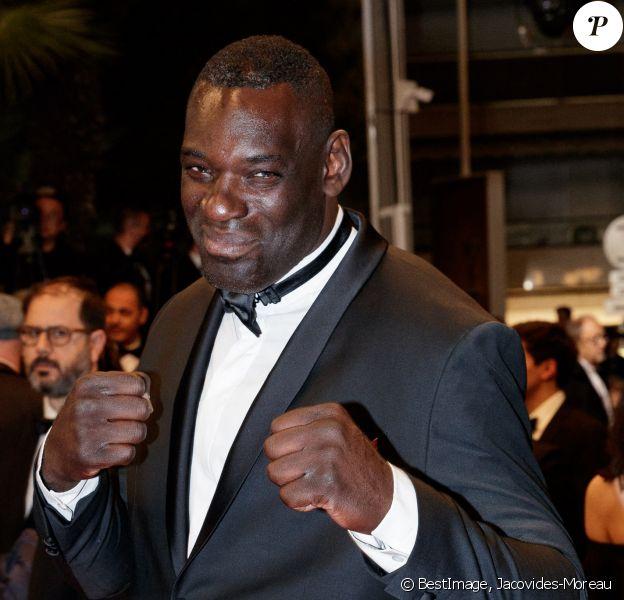 """Patrice Quarteron - Montée des marches du film """"Diego Maradona"""" lors du 72ème Festival International du Film de Cannes. Le 19 mai 2019 © Jacovides-Moreau / Bestimage"""