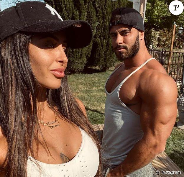 Gauthier El Himer et sa soeur le 14 avril 2020 sur Instagram.