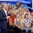 """Nagui sur le plateau de son émission """"N'oubliez pas les paroles"""", vendredi 17 juillet 2020 sur France 2."""