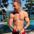 David Guetta montre son corps musclé sur Instagram le 18 juillet 2020.