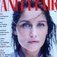 """Laetitia Casta en couverture de """"Vanity Fair"""", numéro d'août 2020."""