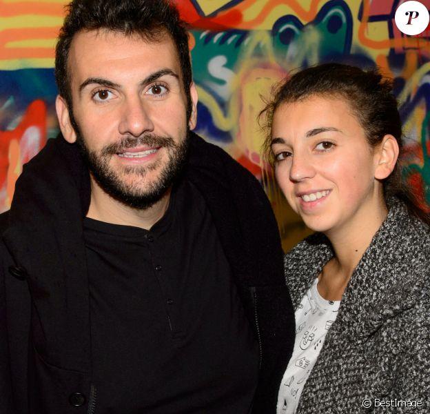 Exclusif - Laurent Ournac et sa femme Ludivine - No Tabloids - Croco Kids Party Lacoste au Pavillon Puebla à Paris le 16 septembre 2015.
