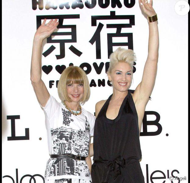 Gwen Stefani à la soirée Fashion Night à New York le 10 septembre 2009