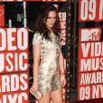 Leighton Meester sur le tapis rouge des MTV Videos Music Awards, à New York le 13 septembre 2009