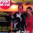 """Albert et Charlene de Monaco dans le magazine """"Point de vue"""" du 29 juillet 2020."""
