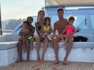 Cristiano Ronaldo : Champion en vacances avec Georgina et les enfants