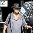 Patrick Swayze : Ses dernières photos en aout 2009, très atteint par la maladie, il veut encore y croire...