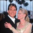 Avec son épouse Lisa Niemi en 1995 à Monaco aux World Music Awards
