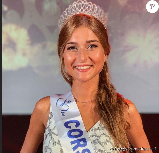 Noémie Leca élue Miss Corse 2020 - Instagram, 29 juillet 2020
