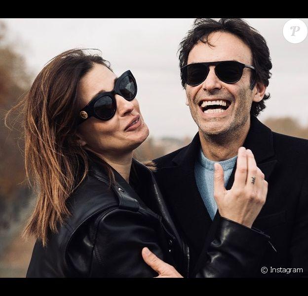 Anthony Delon et Sveva Alviti le 25 décembre 2019 sur Instagram.