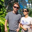 Kim Kardashian et Jonathan Cheban le 3 décembre 2019 à Miami.