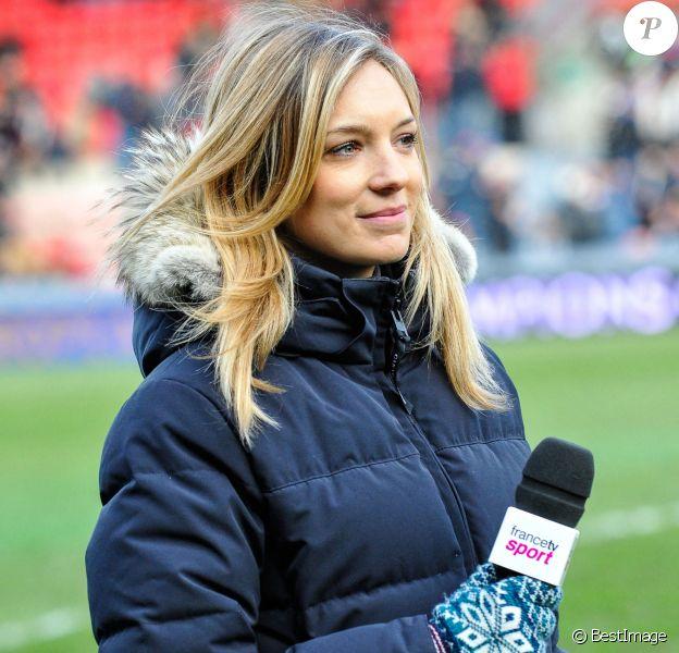 Clémentine Sarlat de France Télévisions le 18 janvier 2015.