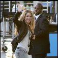 Shakira à son arrivée au studio Jimmy Kimmel
