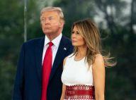 Melania Trump repousse son époux en public : un vent énorme face caméra
