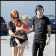 Ashlee Simpson et son mari Pete Wentz ont passé une délicieuse journée avec leur fils Bronx. Le 16/09/09