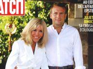 Emmanuel et Brigitte Macron à Brégançon : complicité et décontraction