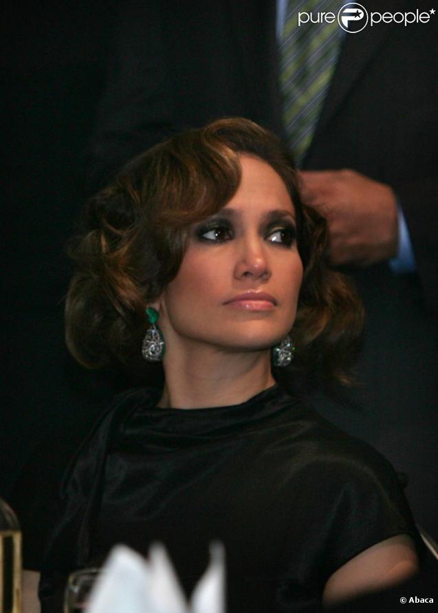 Jennifer Lopez et Marc Anthony lors du Gala organisé par la communauté hispanique