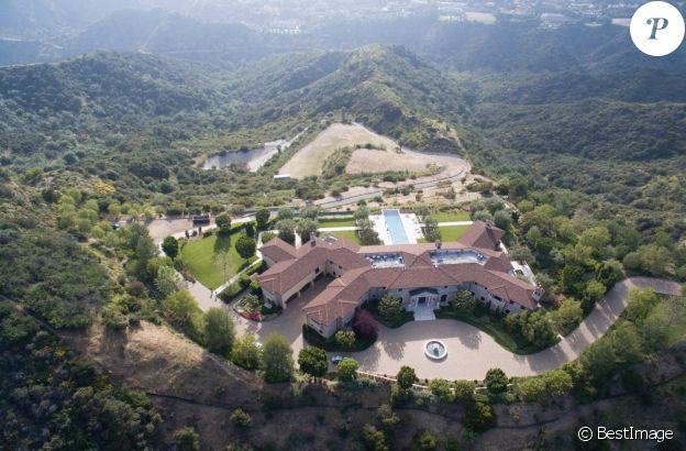 La résidence du prince Harry et Meghan Markle à Beverly Hills, Los Angeles, Californie, Etats-Unis, le 16 mai 2020.
