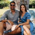 Ilona Smet a posté cette photo d'elle avec son amoureux Kamran, pour leurs 8 ans de relation, sur Instagram.