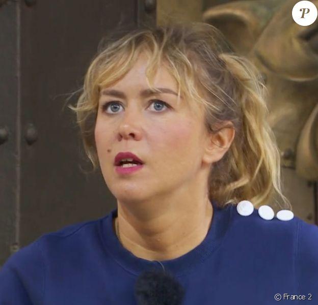 """Enora Malagré dans l'émission """"Fort Boyard"""", diffusée le fin août 2020 sur France 2."""
