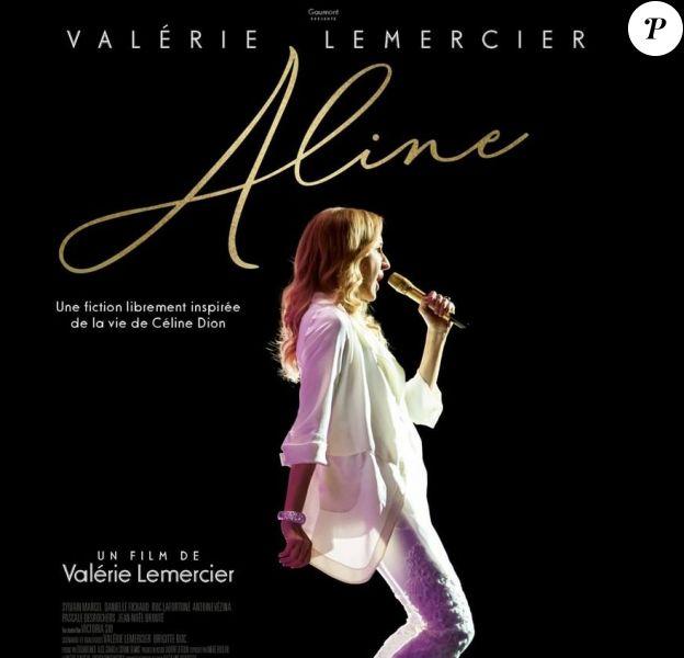Aline de et avec Valérie Lemercier, biopic libre de la vie de Céline Dion.