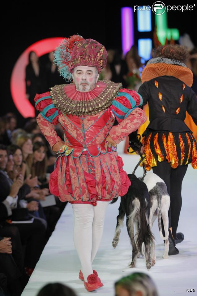 Gérard Jugnot au concours Elite Model Look