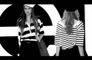 Le défilé de la finale française du concours Elite Model Look... De très jolies jeunes filles... en fleurs ! Regardez !