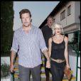 Tori Spelling et Dean McDermott en route pour le restaurant à Malibu le 18 septembre 2009
