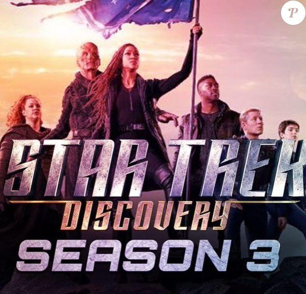 Affiche promo de la 3e saison de Star Trek Discovery