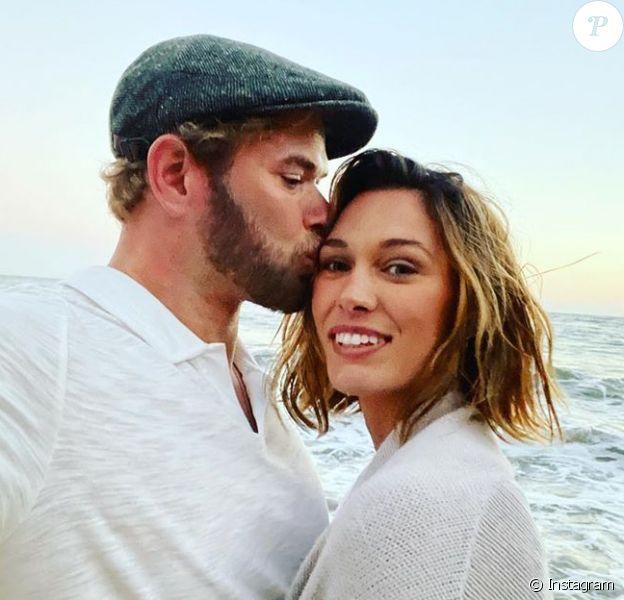 Kellan Lutz et son épouse Brittany Gonzales sur Instagram.