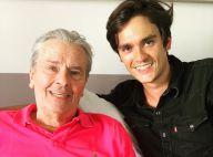 Alain Delon et son fils Alain-Fabien rabibochés et plus proches que jamais