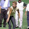 Céline Dion au tournoi de golf du Rancho Mirage en Californie