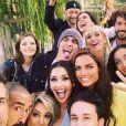 """Karima Charni réunie avec d'autres anciens candidats de la Star Academy pour un album hommage à Grégory Lemarchal, """"Restons amis"""" - Instagram"""