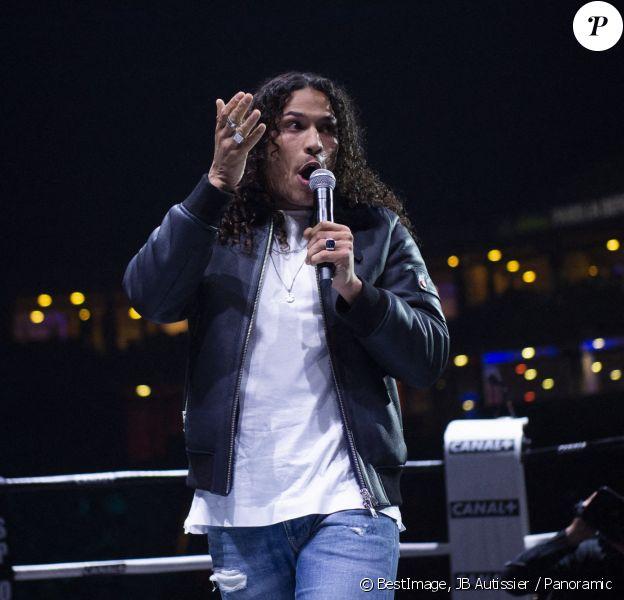 Show de Hatik - People lors de la soirée de boxe à Paris La Défense Arena, septembre 2020. © JB Autissier / Panoramic / Bestimage