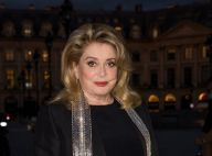 Catherine Deneuve signe son grand retour en soirée, élégance pour Vuitton