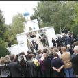 Obsèques de Filip Nikolic, à l'Eglise Sainte-Geneviève-des-Bois, dans le 91. 24/09/09