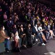 Alysson Paradis, Alice Belaïdi, Thylane Blondeau, Alice David, Laurent Milchior, Joséphine Japy, Virginie Ledoyen - Défilé Etam Live Show 2020 à Paris le 29 septembre 2020. © Pool Agence Bestimage