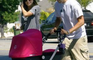 Alyson Hannigan en famille, petite balade sous... le soleil de Los Angeles !