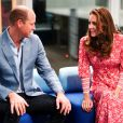 "Le prince William, duc de Cambridge, et Kate Middleton, duchesse de Cambridge, visitent un ""Job Centre"" de Londres, le 15 septembre 2020."